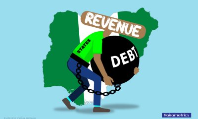 All states' debts exceed revenue, contravene DMO rule- FRC, Nigeria's total debt portfolio as at December 2019 stands at N27.4 trillion