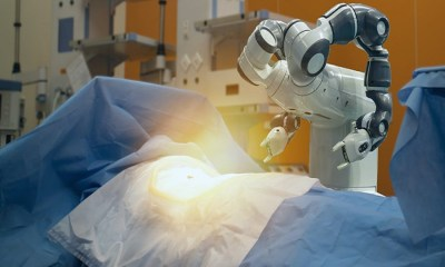 Robots controlling the spread of virus – a potential game changer