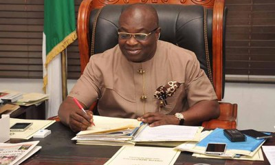 Abia state governor tests positive to coronavirus, says it's not death sentence