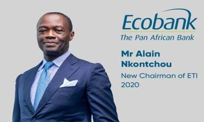 Alain Nkontchou, Ecobank