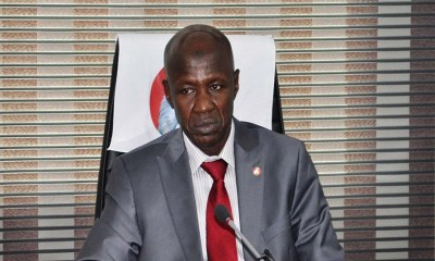 Ibrahim Magu, Buhari appoints new Ag. Chairman of EFCC, gives reason for Magu's suspension