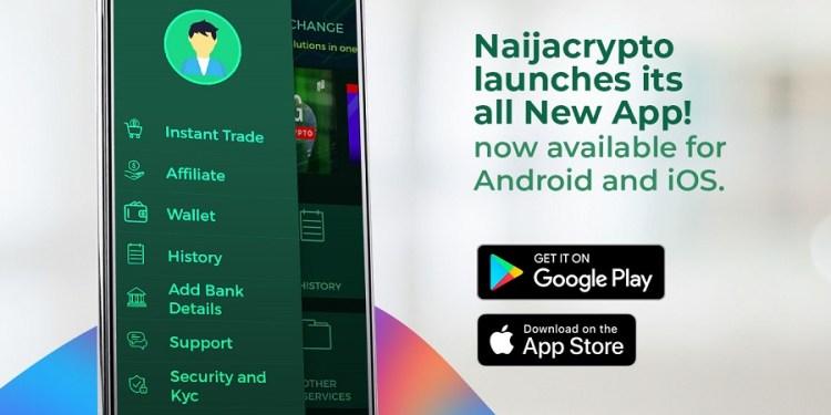 Crypto exchange, Naijacrypto launches mobile app to capitalize on Africa's crypto surge