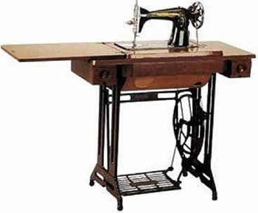 black butterfly sewing machine