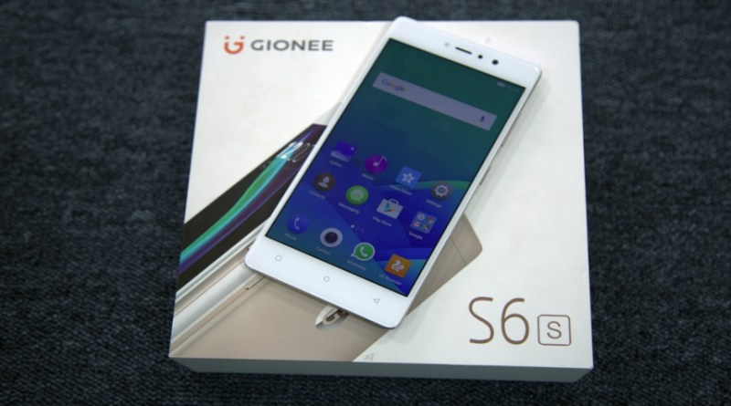 Gionee S6s features