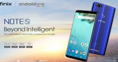 Infinix Note 5 & Note 5 Pro Features