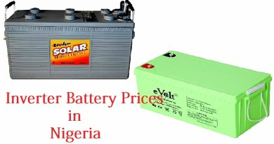 Inverter Battery Prices in Nigeria