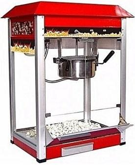 Popcorn machine show glass