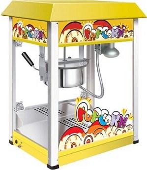 Universal popcorn machine - yellow
