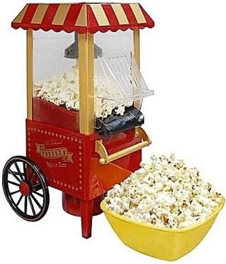 popcorn machine show glass wheels