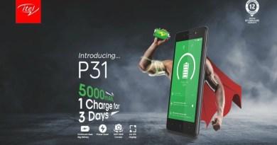 itel p31 features
