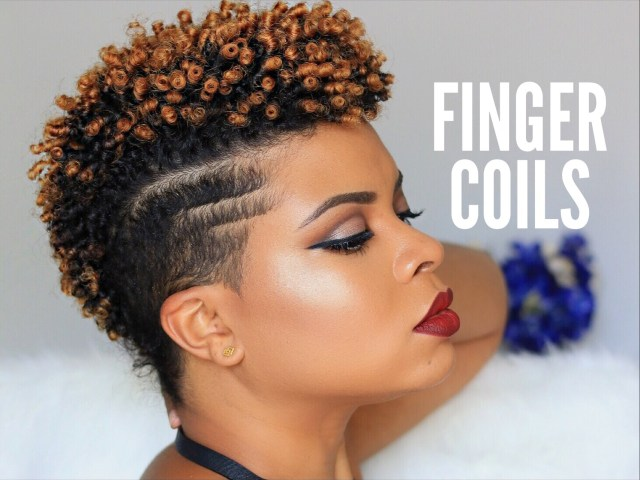 what are finger coils? how to get the perfect finger coils