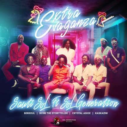 Sauti Sol New Song Extravaganza Featuring Bensoul, Nviiri the Storyteller, Crystal Asige & Kaskazini Official HD Video