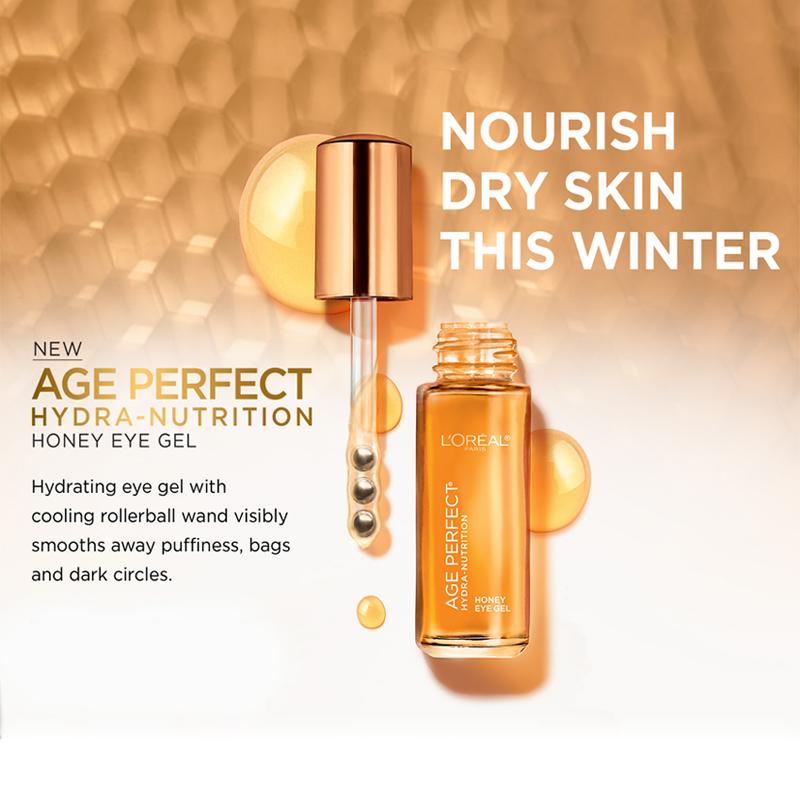 L'OrealAge Perfect Hydra-Nutrition Honey Eye Gel