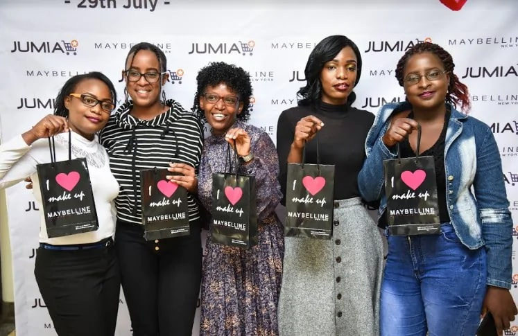 Jumia partnered with Maybelline NY to celebrate the Cleftie Lip and Palate Women ahead of National Lipstick Day celebrated on 29th June.