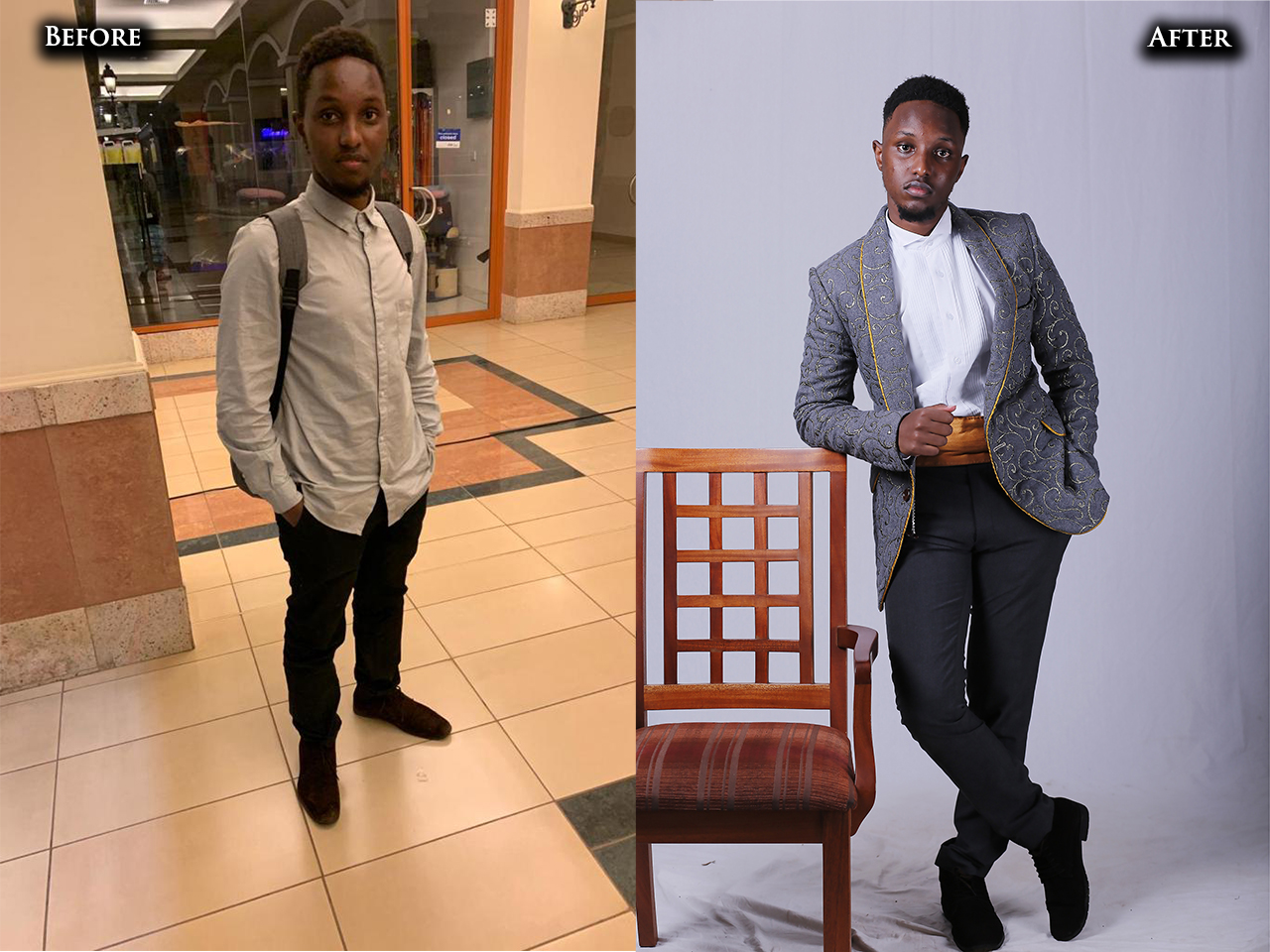 An entrepreneur get's a fashion makeover thanks to advice from his wife | A Men's Makeover Series