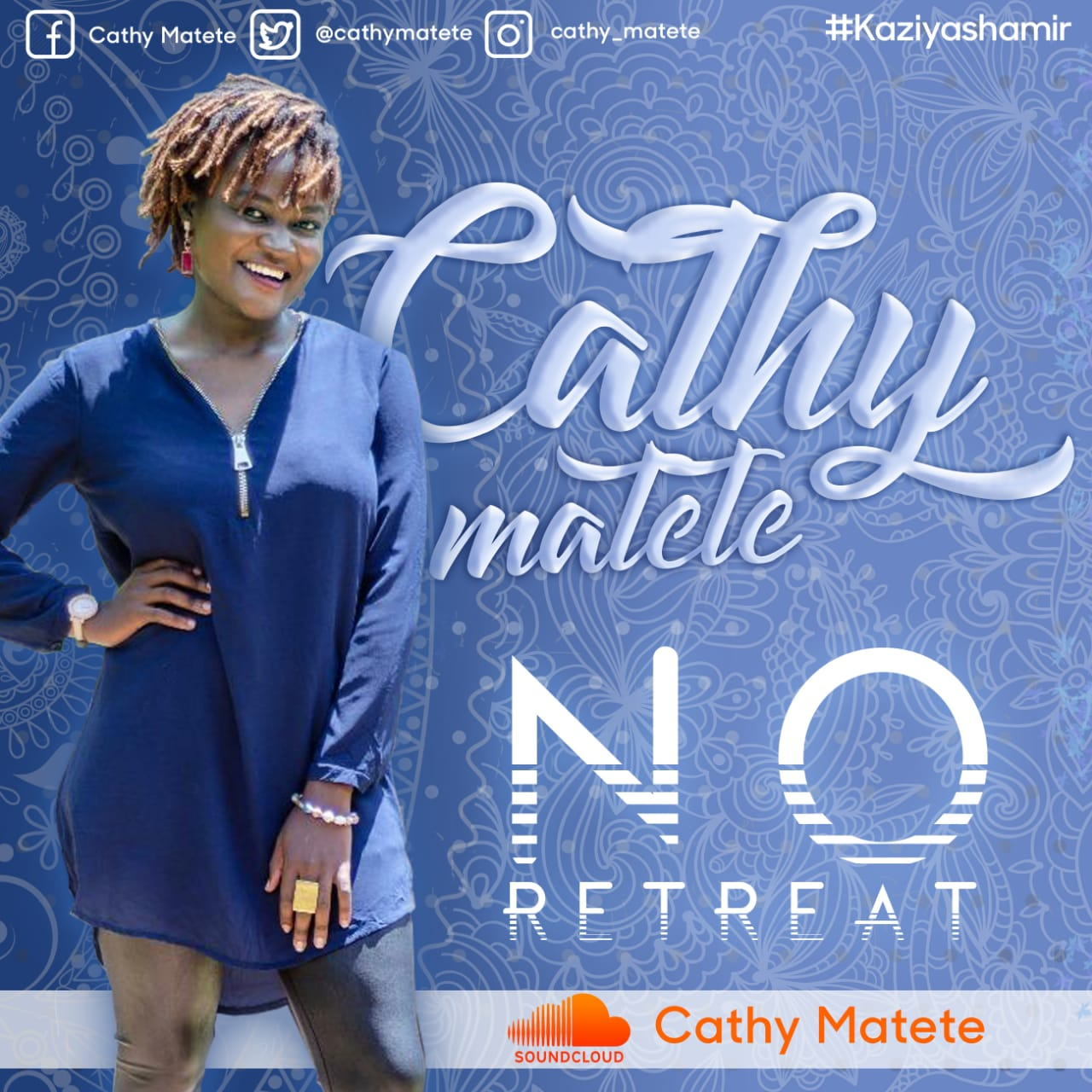 Cathy Matete New Song No Retreat Official HDVideo