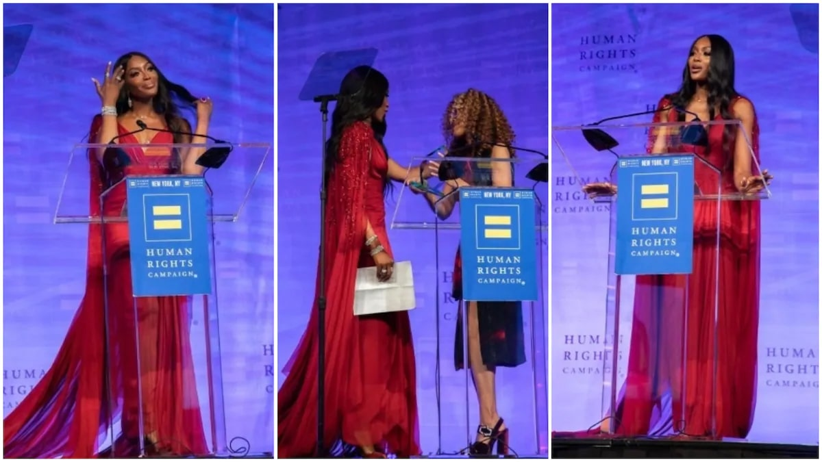 British Model, Naomi Campbell Honored With The Global Advocacy Award In New York