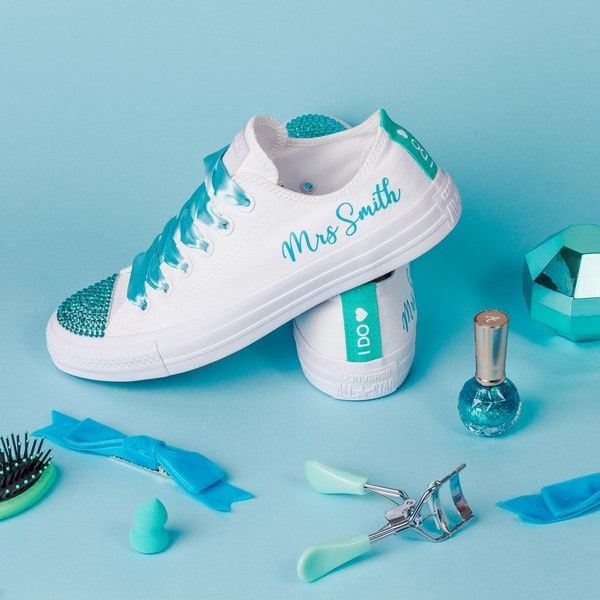 Converse Launched A Wedding Shoe Collection For Brides Who Hate High Heels