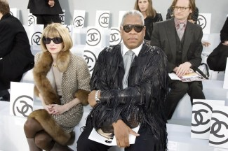 Nairobi fashion hub Anna Wintour and Andre Leon Talley