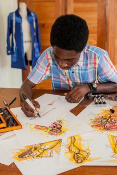 Papa Oppong, aGhanaian Designer who Rocks the Fashion World while fighting Malaria