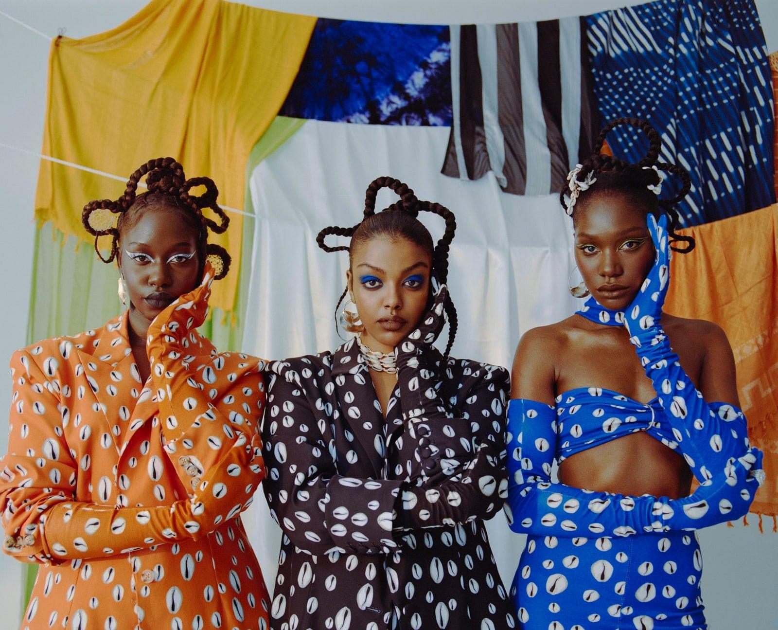 Stockholm Fashion Week Spring 2022, Aajiya Designer Maimuna Cole Is Dreaming Big