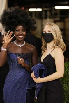 The Story Behind Lupita Nyong'o's Denim-Inspired Met Gala 2021 Beauty Look