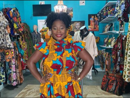 Anji Degante Is Using Her Tampa-based Clothing Business To Help Orphaned Children In Kenya.