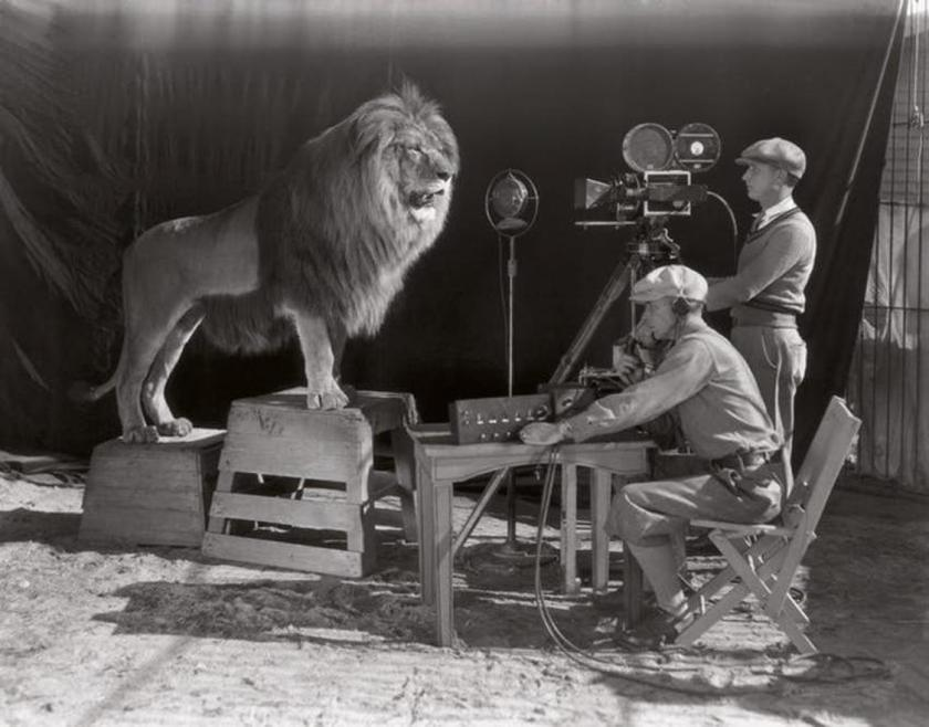historical MGM lion