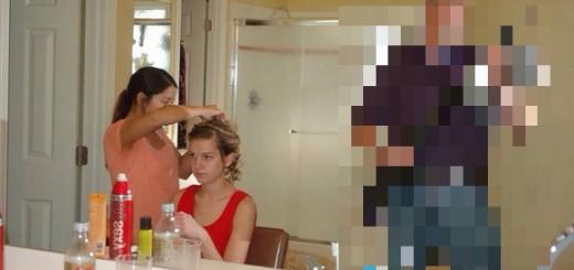 娘を持つ父親なら共感必至! 愛娘の初デート前に激写されたパパの姿が話題!!!