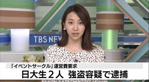 日本大学の学生 村尾光康 清水勝護 顔画像や動機は?