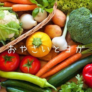 お野菜とヨガ