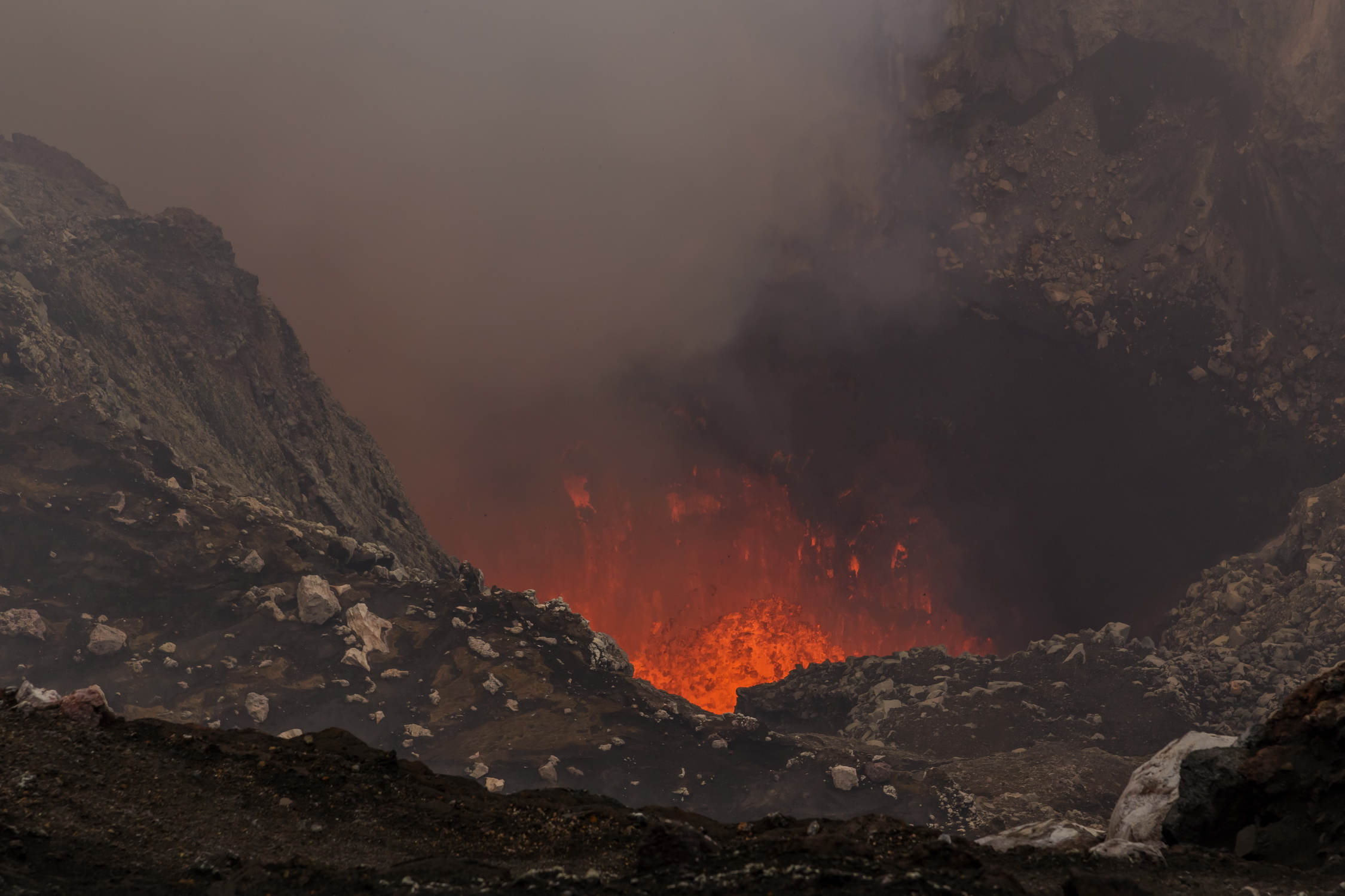 Part 15 Crater Benbow of volcano Ambrym  Life is a journey