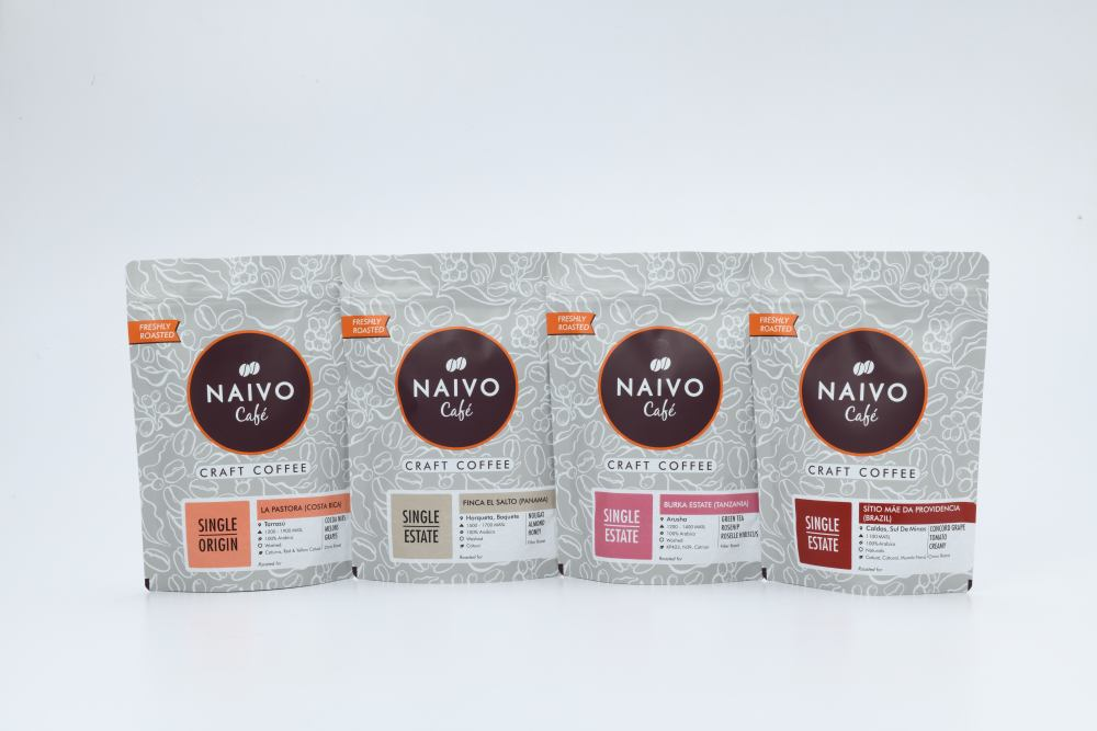 imported coffee beans