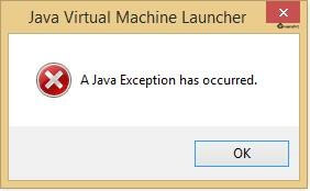 JavaException