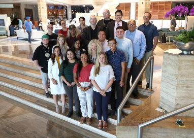 2018 class of Native Journalism Fellows in Miami.