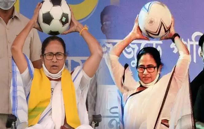 রাজনীতির স্লোগান পুজো মন্ডপেও, মমতার পাড়ার এবছরের থিম 'খেলা হবে'