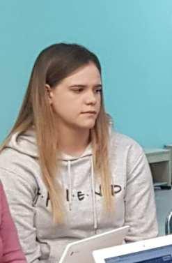 Klaudia Kleina - sekretariat i pomoc nauczyciela