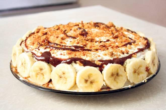 Karamel torta s bananama - Fina torta gotova za samo 45 minuta!