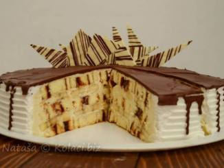 SAVRŠENO KREMASTA: Torta od rolata sa marmeladom i bananama