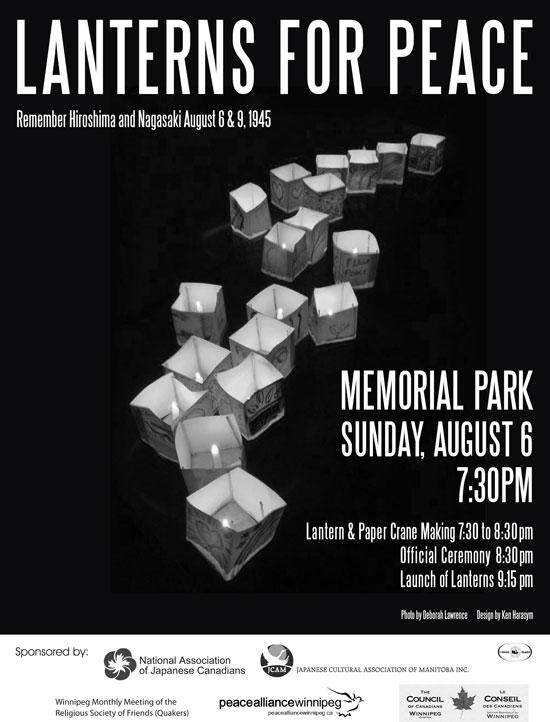 Winnipeg - Lanterns for Peace