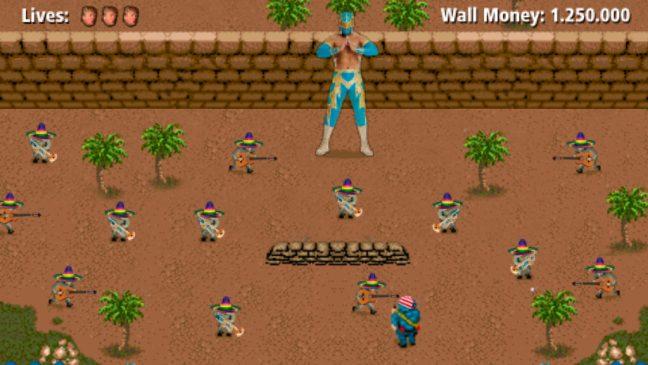 El muro mexicano