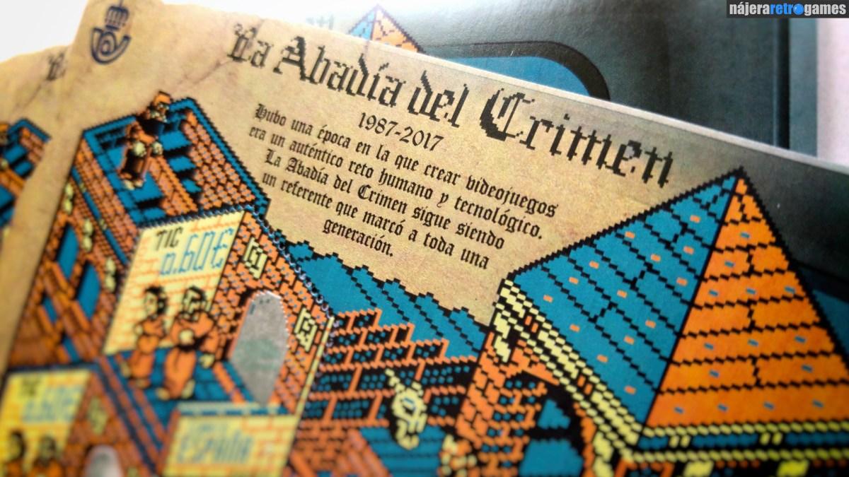 Sellos de La Abadía del Crimen. El 30 aniversario del juego, homenajeado con un sello muy especial