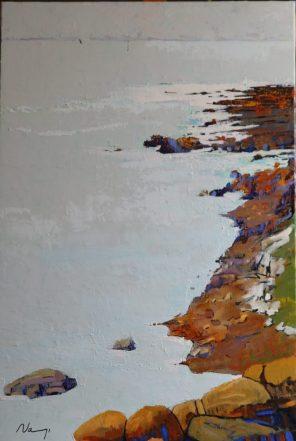 Pointe de Ste-Marine. Aout 2020.