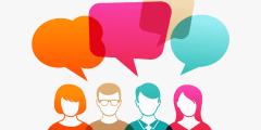حوار باللغة الانجليزية بين شخصين للتعارف مع الترجمة بالعربية
