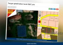 Tanah Lot bernilai RM7 Juta