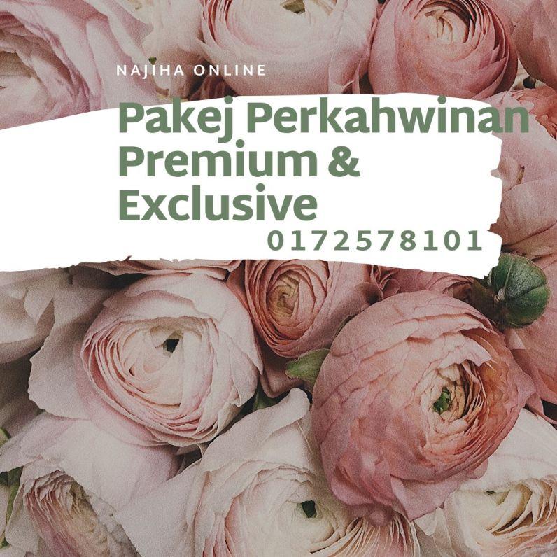 Pakej-Perkahwinan-Premium-&-Exclusive