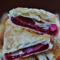 Ciastka francuskie z wiśniami (nadzienie idealne)