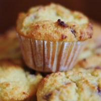 FIT Muffinki z owocami bez cukru (paleo, bez mleka, bez mąki, bez orzechów)