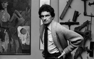 Jerzy Kosiński, 1981, Nowy Jork fot. Cz. Czapliński