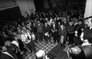 """Cz. Czapliński, wystawa """"Twarzą w twarz"""", Narodowa Galeria Sztuki, Warszawa 1989"""